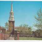 Christ Church Philadelphia PA Side Entrance Vintage Postcard Walter Miller
