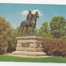 Valley Forge PA Anthony Wayne Statue Vintage Postcard
