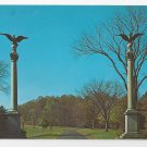 Valley Forge PA Columns Vintage Postcard