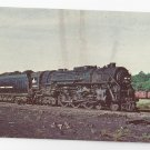 Train New York Central 5214 Hudson Steam Locomotive Vintage Postcard