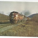 Train Lehigh Valley 562 Railroad RR Vintage Postcard