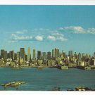 Manhattan Skyline New York City NY Vintage Nester's Postcard