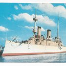 USS Olympia Postcard Admiral Dewey Flagship Naval Ship Philadelphia