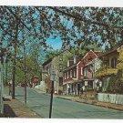 New Hope Bucks County PA Mechanic Street 1973 Vintage Postcard