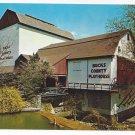 New Hope PA Bucks County Playhouse Theater 1964 Vintage Postcardage Postcard