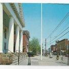 Flemington NJ Postcard Main Street Hunterdon County 1968 Court House