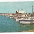 Jones Beach West End Boat Basin Long Island NY State Park Vintage Postcard