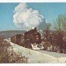 Train Railroad Postcard New Hope & Ivyland Steam Engine Bucks Co. PA
