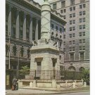Battle Monument Baltimore MD War Memorial Court House Vintage Postcard