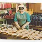 Leola Pa Amish Girl Old Candle Barn Vintage Postcard