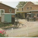 Amish Carriage Maker's Shop Mel Horst Lancaster Vintage Postcard