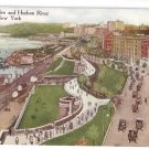 Hudson River NY Riverside Drive Success Postal Card c 1915