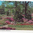 Baltimore MD Guilford Sherwood Gardens Postcard 4X6