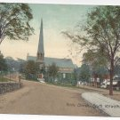 South Norwalk CT Trinity Church 1909 Valentine & SonsPostcard