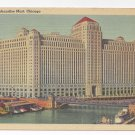 Chicago IL Merchandise Mart 1941 Tichnor Linen Postcard