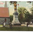 Wilmington DE Garfield Monument Vintage Postcard