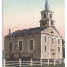 MA Cape Cod Baptist Church West Harwich Vintage Tinted Postcard