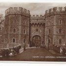 UK Windsor Castle Henry VIII Gateway RPPC Berkshire Valentines Real Photo Postcard