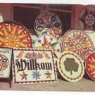 Amish Pennsylvania Dutch Hex Signs for Sale Vintage Postcard