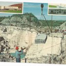 Barre VT Advertising Rock of Ages Granite Quarry Vintage Chrome Postcard