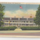 Trenton NJ Old Barracks Vintage Linen Postcard