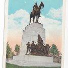 PA Gettysburg Virginia State Memorial Vintage Postcard