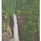 OR Mill Creek Falls Waterfall Rogue River Vintage Postcard