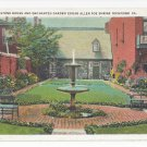 VA Richmond Old Stone House Edgar Allen Poe Shrine Vintage Postcard