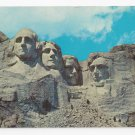 SD Mt Rushmore Black Hills South Dakota Vintage 1962 Postcard