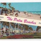 FL Palm Beach Greetings Vintage 1970 Florida Postcard