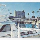 FL St Petersburg Hilton Hotel Boats marina Vintage Postcard