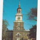 PA Philadelphia Independence Hall Vintage Postcard