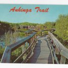 FL Everglades National Park Anhinga Trail Vintage Postcard