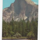 CA Yosemite National Park Half Dome Rock Vintage Postcard