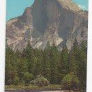 CA Yosemite National Park Half Dome Rock Vintage Postcard