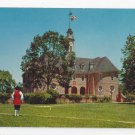 VA Williamsburg Colonial Capitol Vintage Postcard