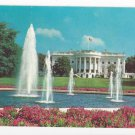 Washington DC White House Vintage 1964 Postcard