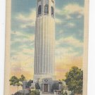 CA San Francisco Coit Memorial Telegraph Hill Vintage Linen Postcard