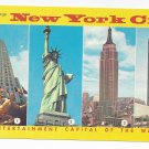 NY Greetings New York City Multiview Vintage Nesters Postcard