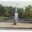 PA Roaring Springs Spring Dam Electric Fountain Vintage 1974 Postcard