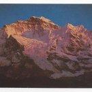 Jungfrau Switzerland Swiss Alps Mountain Vintage Postcard 4X6