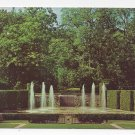 Kennett Square PA Longwood Gardens Open Air Theatre Fountains Vintage Postcard