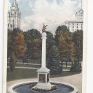Salt Lake City Utah Sea Gull Monument Temple Block Vintage Postcard