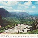 Oahu Hawaii Nuuanu Pali Lookout Vintage 1974 Postcard
