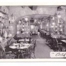 NY Cortile Restaurant New York City Advertising Postcard 1961