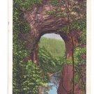 VA Natural Bridge Virginia Vintage Kropp 1936 Postcard