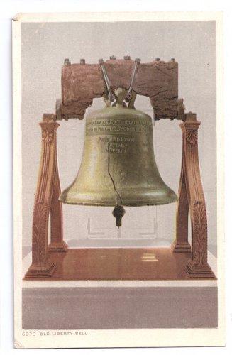 Vintage Liberty Bell Postcard Philadelphia PA Detroit Publishing