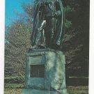 Valley Forge PA Baron Von Steuben Statue Monument Vtg Postcard