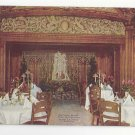 Chicago Hotel La Salle Blue Fountain Room Three Graces Vintage Advertising Postcard