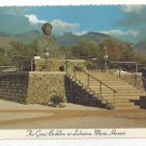 HI Maui Hawaii Great Buddha Lahaina Vtg Postcard 4X6